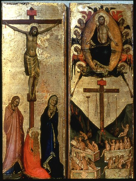 File:Workshop of Jacopo del Casentino - The Last Judgment and the Crucifixion - Walters 37722.jpg