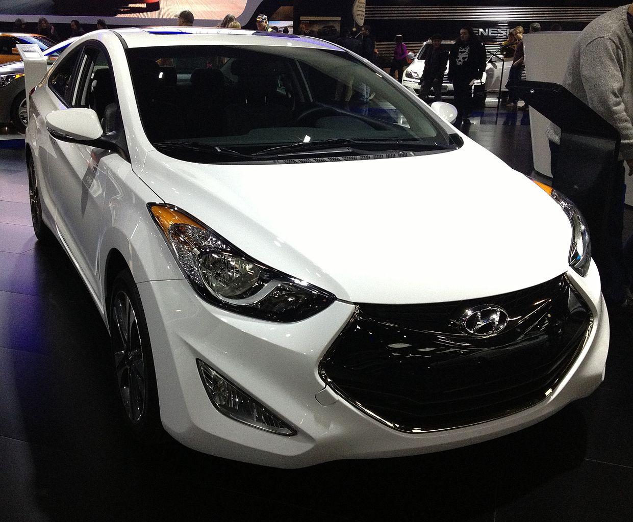 2013 Hyundai Elantra Fuel Tank