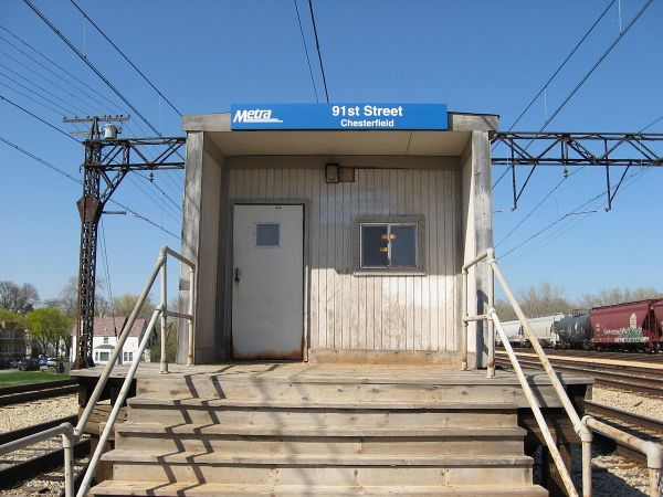 91st Street Chesterfield Station - Wikipedia
