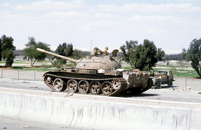 File:Abandoned Iraqi T-54A, T-55 or Type 59 tank.JPEG