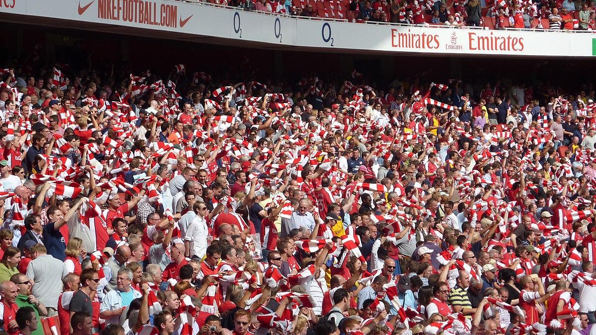 Image result for arsenal fans