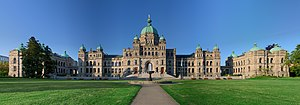 English: The British Columbia Parliament Build...