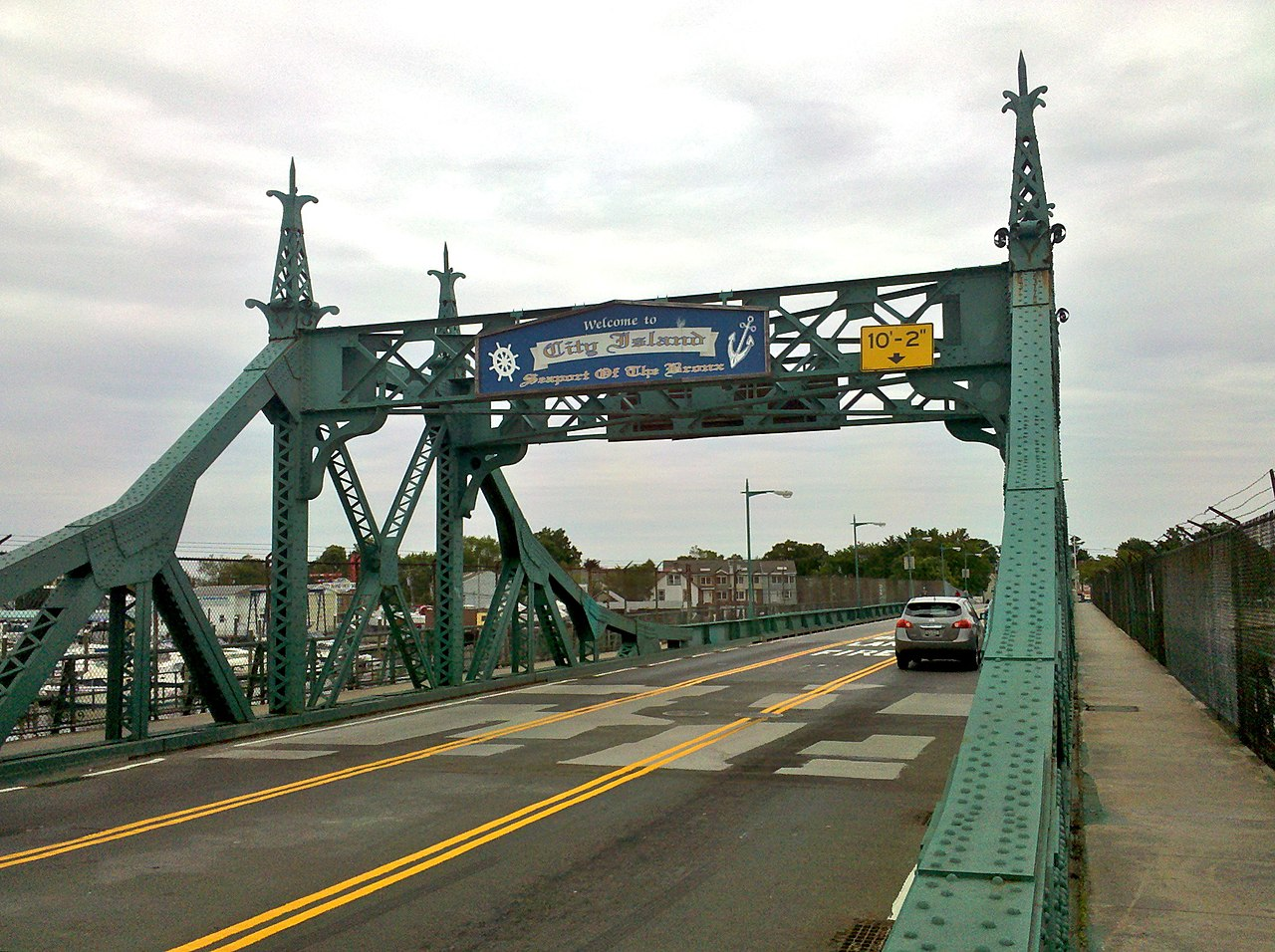 File City Island Bridge From Sidewalk 2011 Jpg
