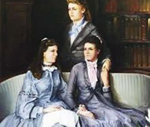 Standing Mary Comfort Leonard Sitting Eva Webb Dodd And Anna Boyd Ellington Ca 1875