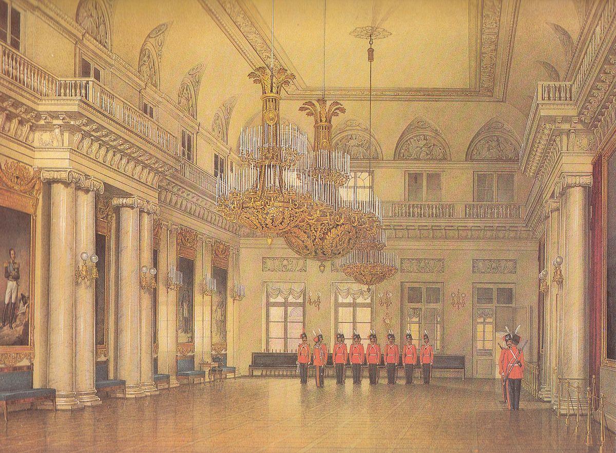 Field Marshals Hall of the Winter Palace  Wikipedia