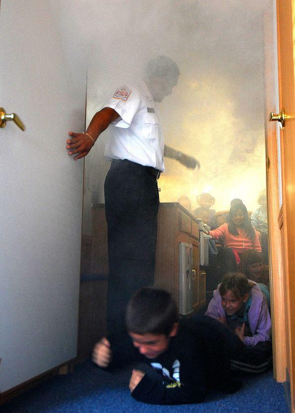 Fire Drill Smoke