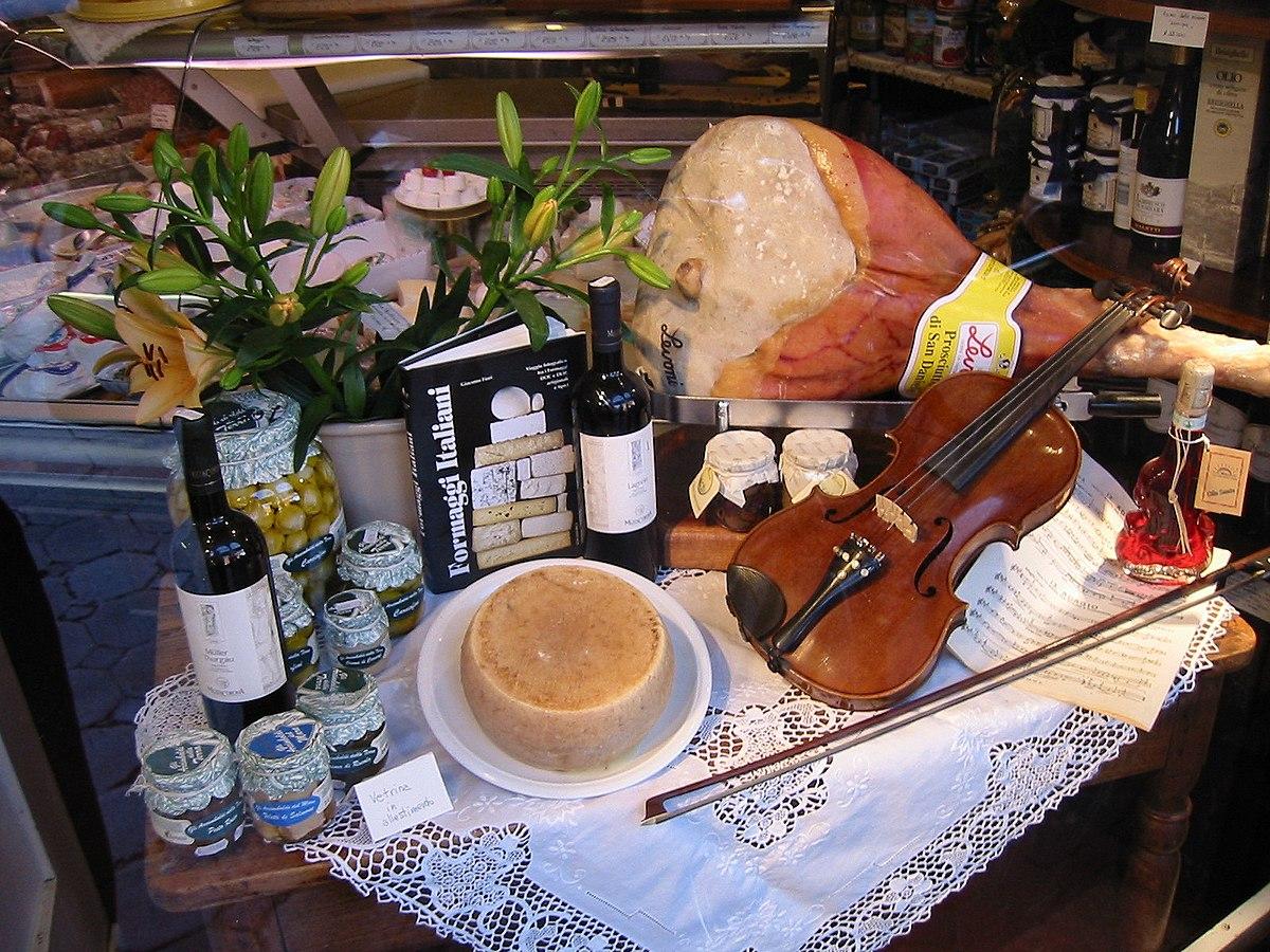 Gastronoma de Italia  Wikipedia la enciclopedia libre