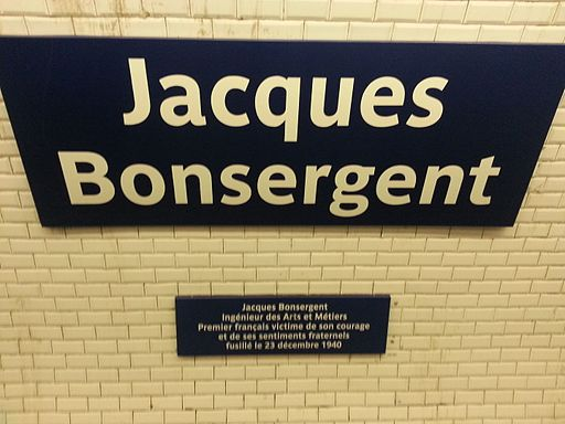 Jacques Bonsergent subway station