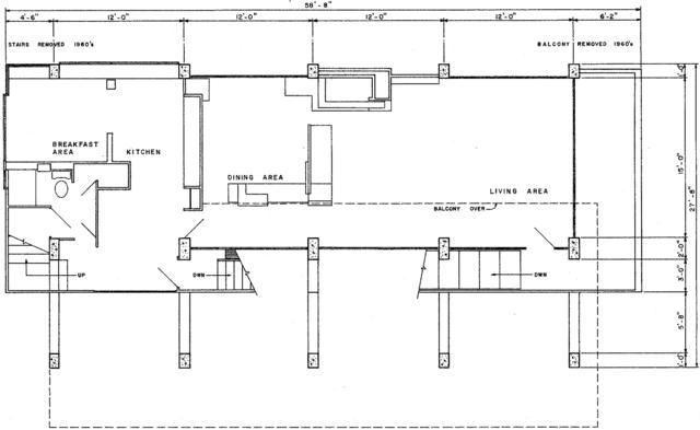 DateiLovell Beach House drawingpng  Wikipedia