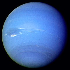 Neptune from Voyager 2