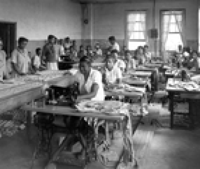 Female Prisoners At Parchman Sewing C