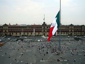 Español: Plaza de la constitución en México