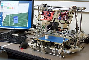 RepRap v2 'Mendel'. Self-replicating fused dep...