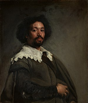 Velázquez uses subtle highlights and shading o...