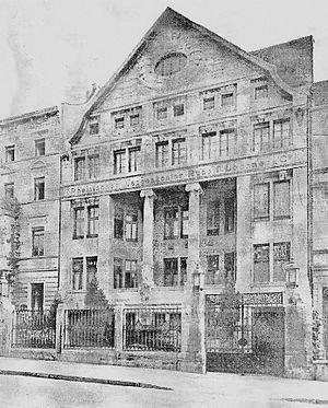 Deutsch: Scan eines alten Fotos der Honigmann-...