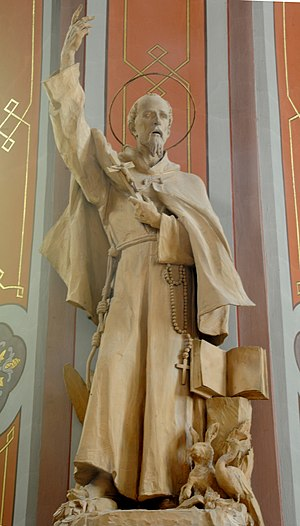 Saint Francis in the Parish church of St. Ulri...