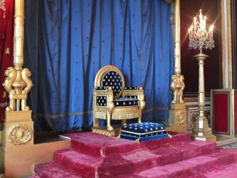 throne napoleon palace fontainebleau emperor fichier king thrones imperial roi tahtı