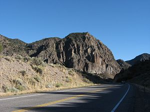 US 89 near Big Rock Candy Mountain
