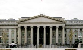 Photo of the US Treasury Building