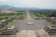 Teotihuacan, uno de los sitios arqueológicos más importantes de México, Estado de Mexico.