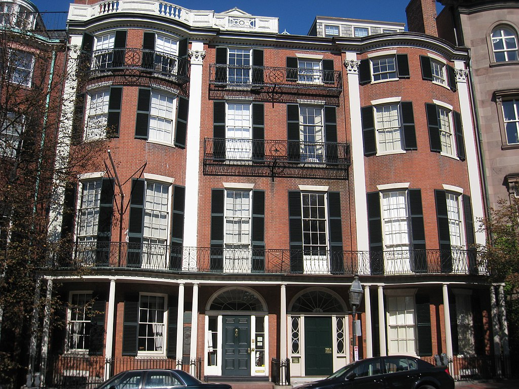 FileWilliam Hickling Prescott House Boston MA Front