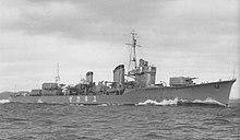 陽炎型驅逐艦 - 維基百科。自由的百科全書
