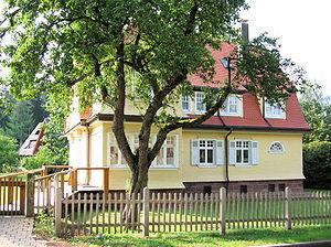 en: The Albert Schweitzer House in Königsfeld ...