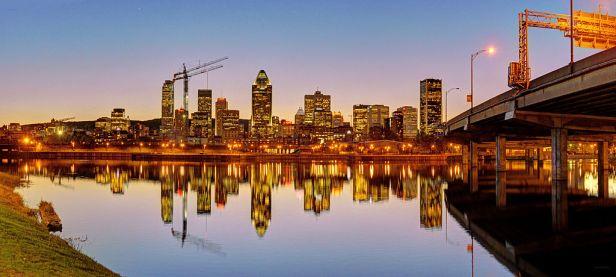 Canada's Cultural Capital - Montreal Skyline
