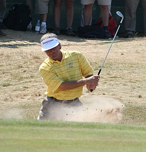 The american professional golfer Fred Couples