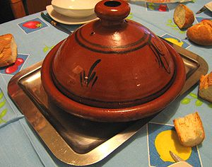 English: Tajine pot. Français : Un Tajine