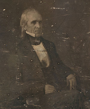 United States president James Knox Polk, three...