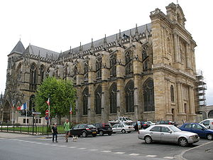 English: Gothic cathedral of Châlons-en-Champagne