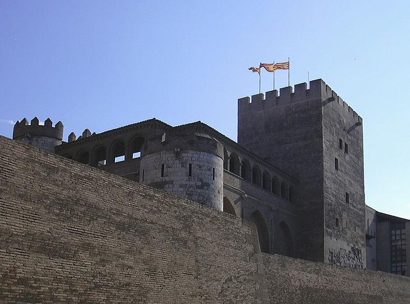 File:La Aljafería - Torre del trovador.JPG