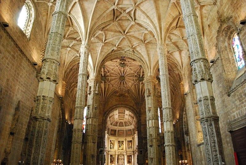 Lisboa - Mosteiro dos Jerónimos - Pilares