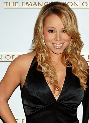 English: Mariah Carey in 2005.