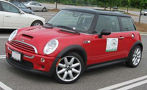 2001-2006 Mini CooperS photographed in USA. Ca...