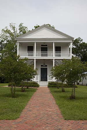 Historic buildings in the town of St. Stephens...