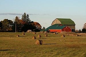 Barn in Rural Ontario, Canada.