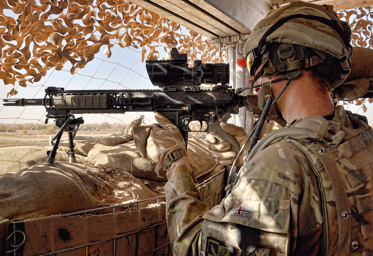 FileSoldier Keeps Watch Over Route Trident Afghanistan
