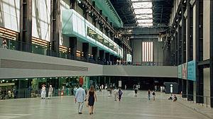 English: London, Tate Modern Deutsch: Foyer vo...