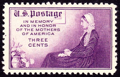 Whistler's Mother 1934 Issue-3c