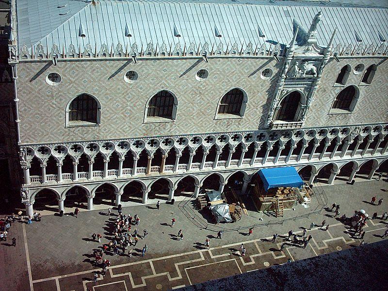 Pałac Dożów - widok z dzwonnicy