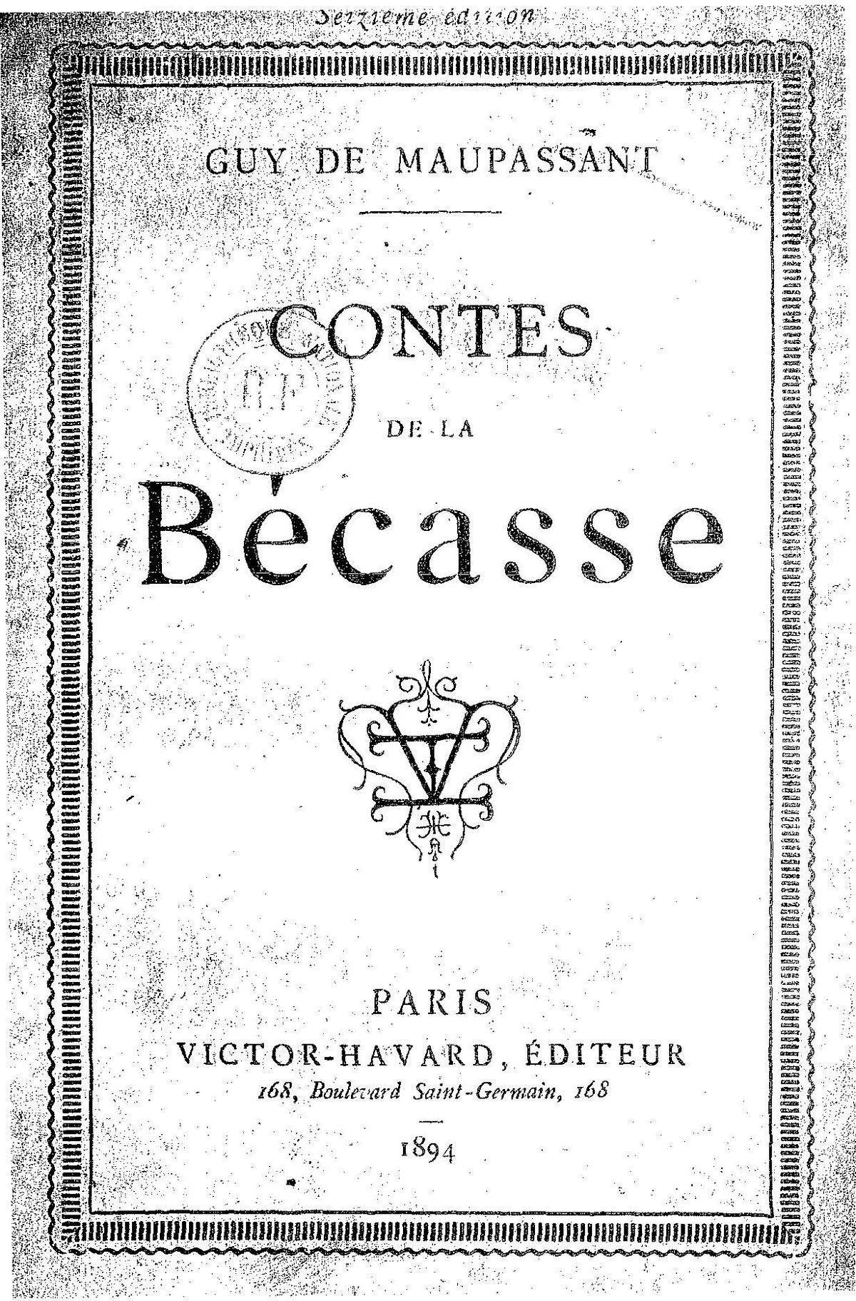 Les Contes De La Becasse : contes, becasse, Contes, Bécasse, Wikipédia
