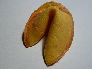 English: fortune cookie Deutsch: Glückskeks
