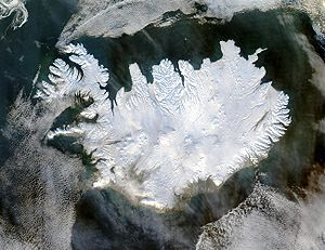 Iceland, from the NASA Visible Earth image gal...