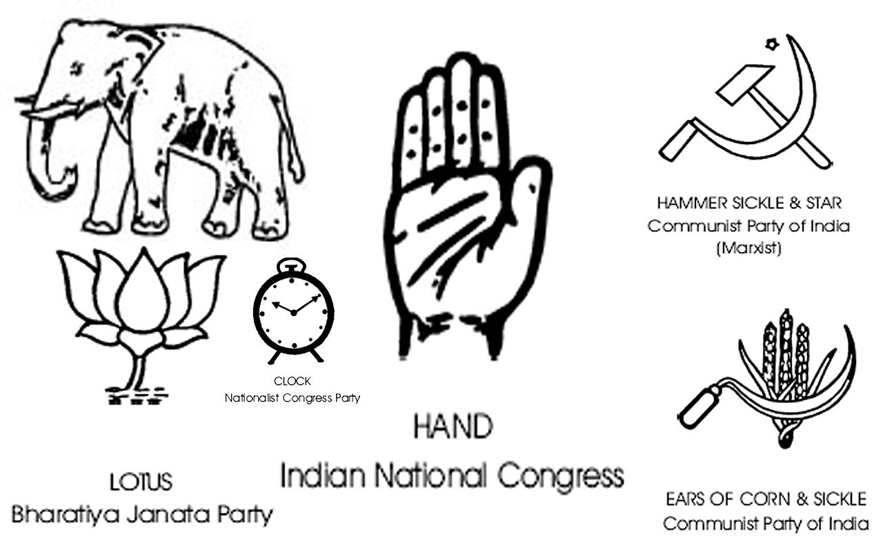 File India National Level Parties Symbols