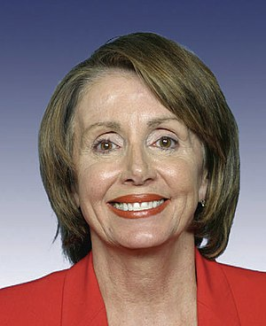 Nancy Pelosi, Speaker of the United States Hou...