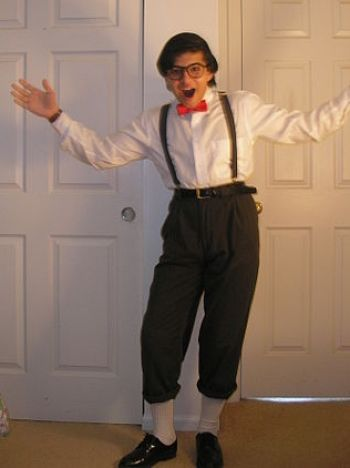 Me being a Stereotypical Nerd.