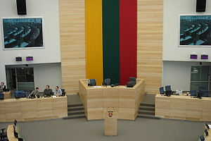 New Lithuanian Seimas Parliament Hall, opened ...