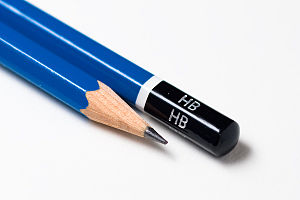 HB graphite pencils Deutsch: Bleistifte der St...